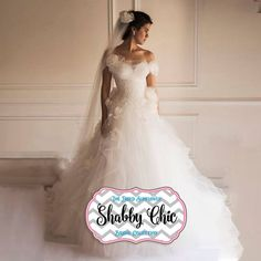 Image result for shabby chic wedding dress
