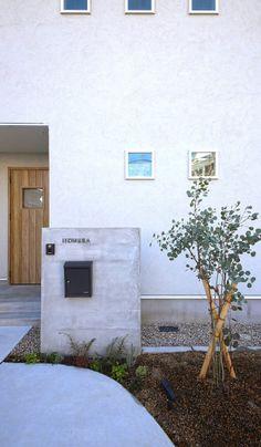 Garden Entrance, House Entrance, Modern Mailbox, Minimal Home, Western Homes, Interior Architecture, Contemporary Design, My House, Interior Decorating