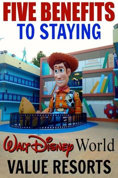 Headed to Disney World on a budget? Here's five great benefits to stay at Disney World Value Resorts!