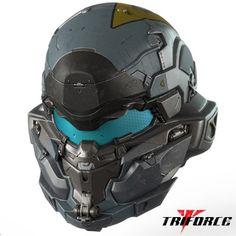 『ヘイロー5 ガーディアンズ』フルスケールレプリカ:スパルタン ジェイムソン・ロック ヘルメット