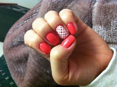 Cute nails. Easy to do!