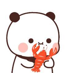 Cute Cartoon Images, Cute Love Cartoons, Cartoon Gifs, Cute Doodles Drawings, Cute Bear Drawings, Chibi Cat, Cute Chibi, Cute Love Gif, Cute Cat Gif