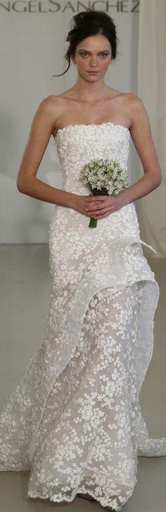 Angel Sanchez Bridal Spring 2014 ♥✤ | Keep the Glamour | BeStayBeautiful