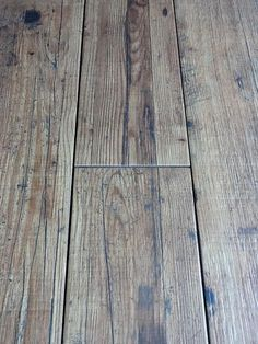 """New wood effect porcelain floor tile now in! """"I didn't know you started doing wood"""" was the comment this morning ;)"""