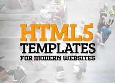 17 New Responsive HTML5 Templates for Modern Websites  #html5templates #modernwebsites #responsivedesign #webtemplates