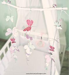 Arriva la cicogna: DIY: le farfalle color pastello per decorare la cameretta