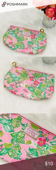 Spoylt Flirtation Pink Floral Flowery Silk Eye Mask BNWT Gift Bag Multi-Coloured