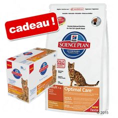 Animalerie  Croquettes Hills Science Plan 5/8/10 kg  12 sachets offerts !  Hairball Control Adult (5 kg)