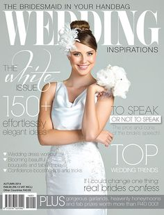 Autumn 2017 March Cover Of Wedding Inspirations Magazine Www Weddinginspirations Co