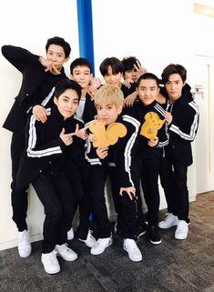 Exo album countdown in japan 2018 Kpop Exo, Exo Ot9, Baekhyun Chanyeol, Park Chanyeol, Exo Group Photo, Luhan And Kris, Kim Jong Dae, Exo Album, Exo Official