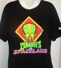 CALL OF DUTY ZOMBIES IN SPACELAND GRAPHIC T-SHIRT 2XLARGE #CallofDuty #GraphicTee
