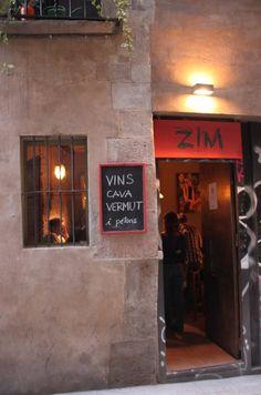 Zim, Barcelona bars