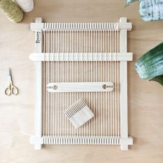 Weaving Looms & Weaving Tools Made in Canada Weaving Tools, Weaving Projects, Weaving Art, Loom Weaving, Hand Weaving, Weaving Wall Hanging, Hanging Frames, Round Loom, Bamboo Weaving