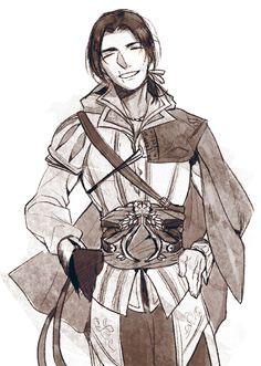 0rodo0: Ezio Auditore in Assassin's creed 2.