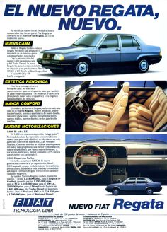 Fiat Regata advertisement from the 1980s, Spain