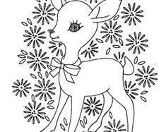 Edredón de bordado de mano Vintage patrón 3183 por BlondiesSpot