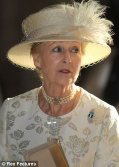 Ordered to rest: Princess Alexandra of Kent