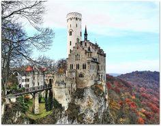 Castle Lichtenstein, Reutlingen, Germany. @Rebekah Ahn Peavey-next Germany trip??
