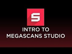 Community Manager Jonathan Holmes goes over the basics of using Megascans Studio…