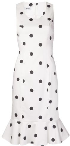 Moschino Cheap & Chic polka dot dress on shopstyle.com