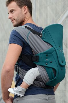 The Caboo DX +coolpass #babywearing #attachmentparenting #carrier