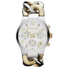 Michael Kors Chain Bracelet Chronograph Ladies Watch MK3199