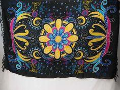 giant butterfly floral pattern sarongs yellow black beachwear shawl scarf $5.25 - http://www.wholesalesarong.com/blog/giant-butterfly-floral-pattern-sarongs-yellow-black-beachwear-shawl-scarf-5-25/