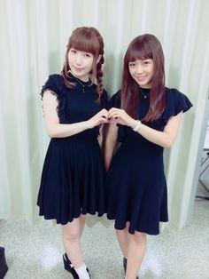 Uchida Aya and Mimori Suzuko