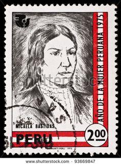 Peru Stamp 1975 - Micaela Bastidas