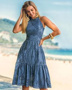Summer dresses - 17 lovely outfits you can try for date Simple Dresses, Pretty Dresses, Beautiful Dresses, Casual Dresses, Short Dresses, Dresses Dresses, Dress Outfits, Fashion Dresses, Club Outfits