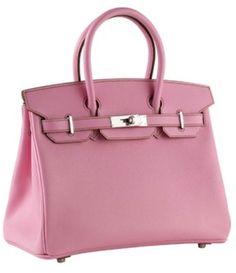 Hermes 30cm Birkin Epsom Rose pink
