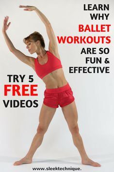 Learn Why Ballet Workouts are So Fun & Effective - Try 5 Free Workouts Ballerina Body, Ballerina Diet, Ballet Body, Ballet Barre, 7 Day Workout Plan, 4 Week Workout, Workout Plans, Ballet Workouts, Fun Workouts