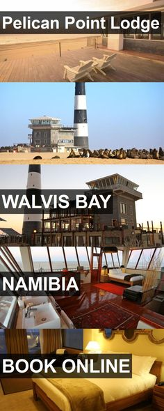 Hotel Pelican Point Lodge in Walvis Bay, Namibia. For more information, photos, reviews and best prices please follow the link. #Namibia #WalvisBay #travel #vacation #hotel