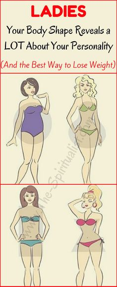 Your Body Shape Reveals a LOT About Your Personality (And the Best Way to Lose Weight!)