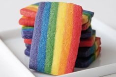Rainbow Cookies (from hungry rabbit)