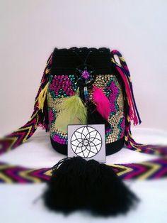 Mini mochila decorada solo frente