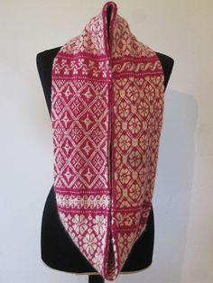 Ravelry: susamelch's Schal mit baltischen Mustern