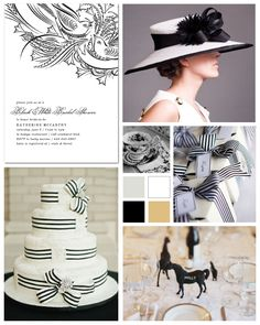 My Fair Lady Bridal Shower Inspiration Board by papersnaps.com