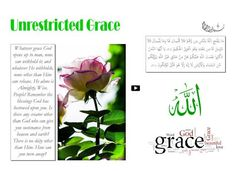 Unrestricted Grace
