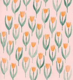 pastels & tulips!