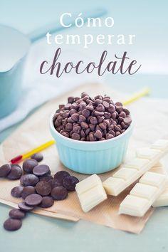 El temperado del chocolate paso a paso, para perderle el miedo y conseguir unos bombones de chocolatier.