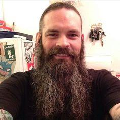 "beardbalm: ""Beard in the raw. All natural @ziggyzoobaboo coming at you from Ottawa, Canada, pretty awesome, eh? #FeedYourBeard http://ift.tt/1InKwss """