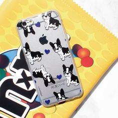 Soft Jelly Clear Design Phone Case - Bulldogs