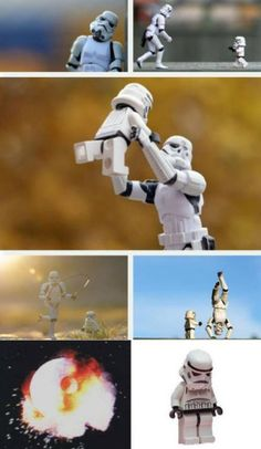 Storm Trooper Father and Son. Star Wars Episode IV: A New Mope...
