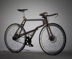 Samurai Bike- Handcrafted titanium frame designed by Kazushige Miyake.