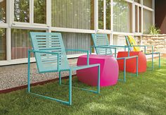From backyard to balcony, our modern outdoor furniture is made to weather the elements. Find patio furniture from outdoor dining sets to outdoor accessories. Indoor Outdoor Furniture, Outdoor Dining Set, Outdoor Seating, Outdoor Rooms, Outdoor Chairs, Outdoor Living, Outdoor Decor, Lounge Chairs, Candy Room
