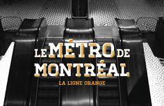 Métro de Montréal on Behance