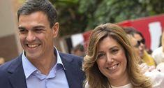 Susana Díaz ensaya en Andalucía un gobierno con Ciudadanos que lleve a Pedro Sánchez a La Moncloa