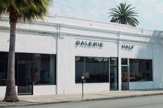 StudioSmall: Galerie Half | North East Storefront Signage, Store Fronts, Visual Identity, London, Outdoor Decor, Design, Home Decor, Branding, Decoration Home