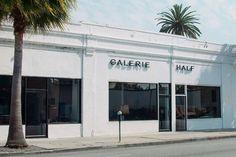 StudioSmall: Galerie Half | North East Storefront Signage, Store Fronts, Visual Identity, Horror, London, Outdoor Decor, Instagram, Design, Branding